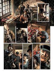Van Helsing Vs. Jack the Ripper p.18clr by BillReinhold