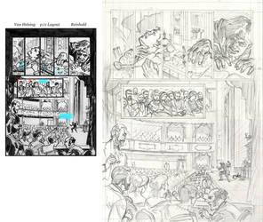 Van Helsing Vs. Jack the Ripper p.11-prelim by BillReinhold