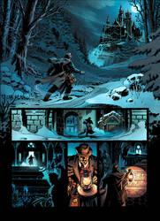 Van Helsing Vs. Jack the Ripper p.1clr by BillReinhold
