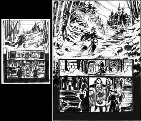 Van Helsing Vs. Jack the Ripper p.1prelim by BillReinhold