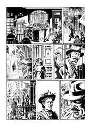 Van Helsing Vs. Jack the Ripper p.15 by BillReinhold