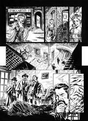 Van Helsing Vs. Jack the Ripper p.17 by BillReinhold