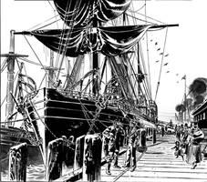 Van Helsing Vs. Jack the Ripper-Dock by BillReinhold