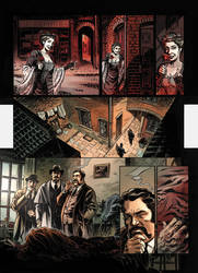 Van Helsing Vs. Jack the Ripper p.17clr by BillReinhold