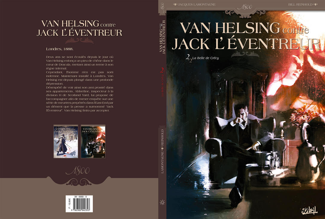 Van Helsing Vs. Jack the Ripper-Parel Cover by BillReinhold
