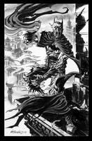 Batman-Zombie-figure by BillReinhold