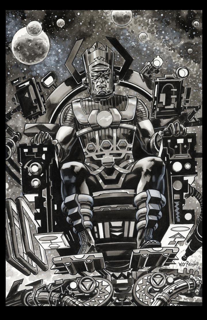 Galactus 2016 commission by BillReinhold