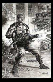Punisher Gatling Gun 2016