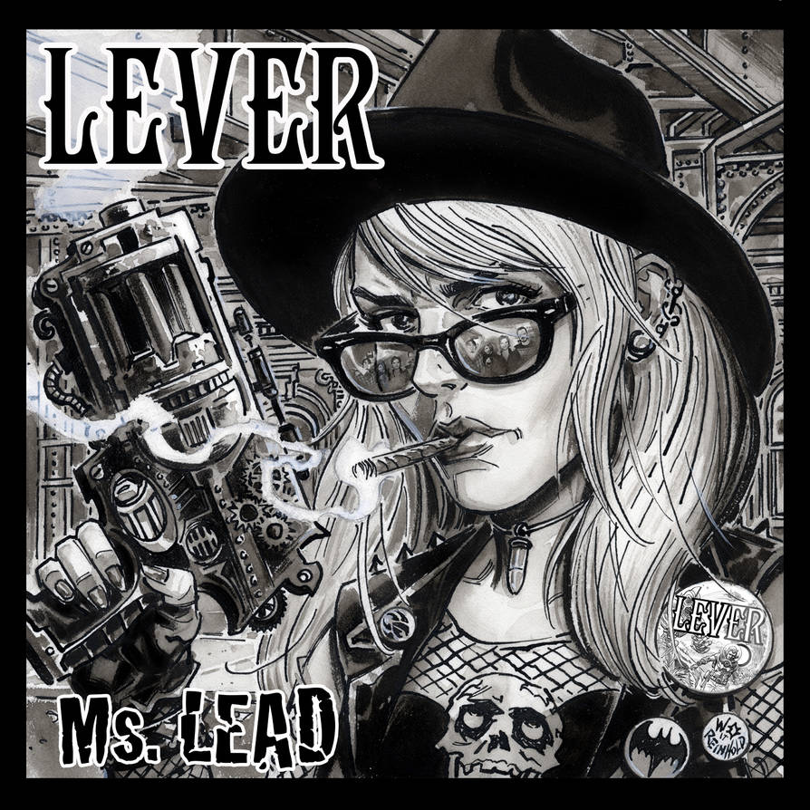 Lever Ms.Lead CD Cover