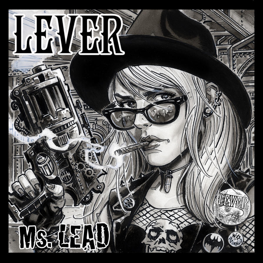 Lever Ms.Lead CD Cover by BillReinhold