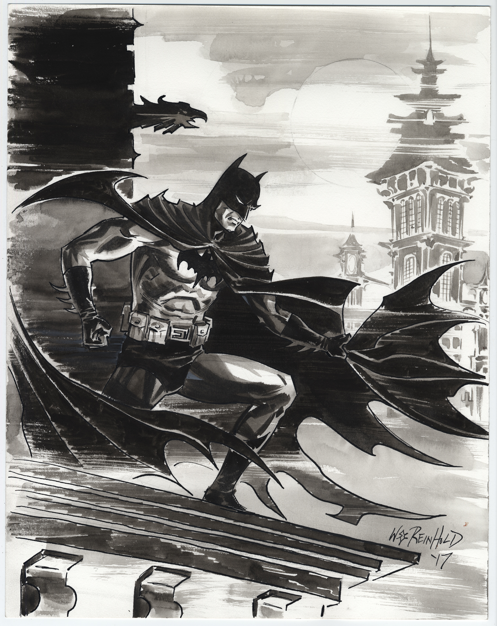 Batman Gotham 2017 by BillReinhold