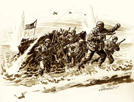 Veterans Day Flying Column Drawing by BillReinhold