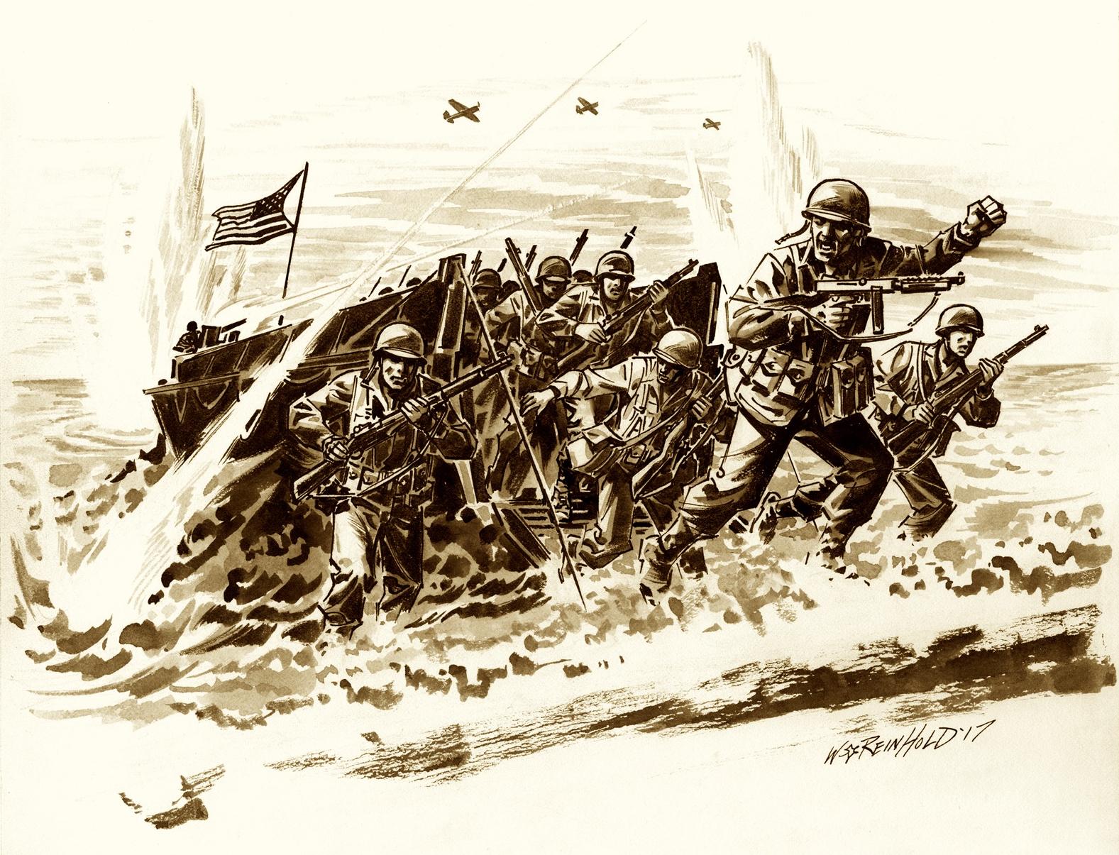 Veterans Day Flying Column Drawing by BillReinhold
