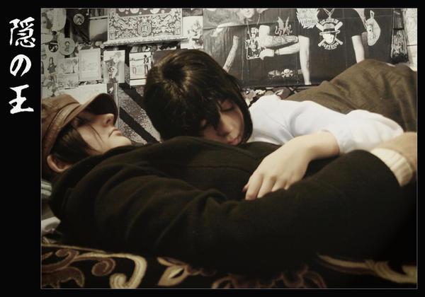 Yoite and Miharu by JonneCat