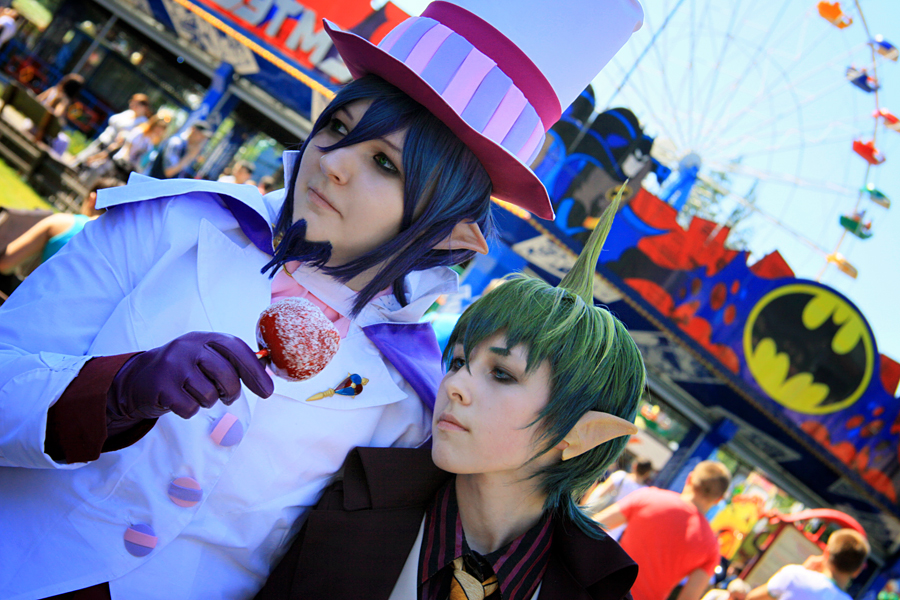 Blue Exorcist: Mephisto and Amaimon by JonneCat