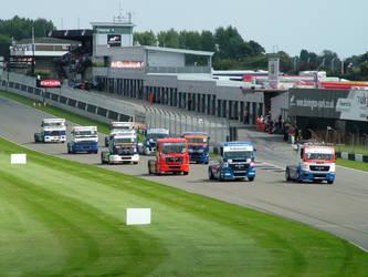 Truck race Donnington park by Ellis171