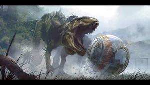 Jurassic World Concept Art- I.Rex by IndominusRex