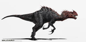 Jurassic World Concept Art - The Malusaurus