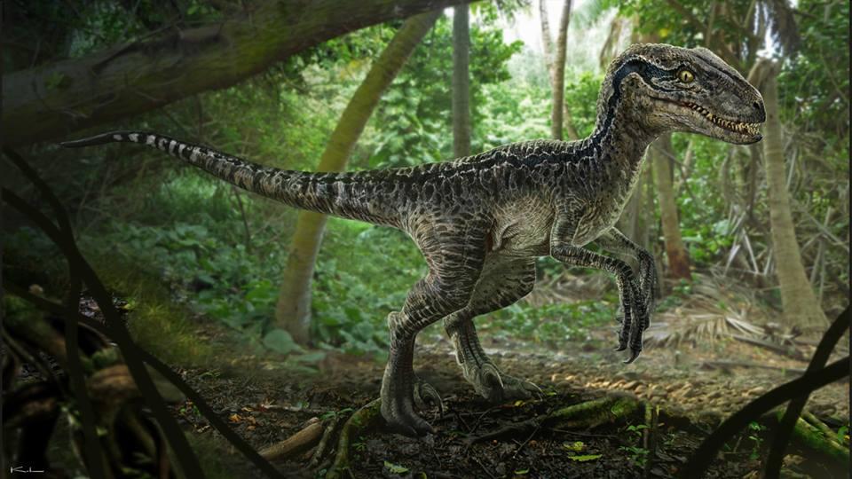 Jurassic World Concept Art Blue The Raptor By