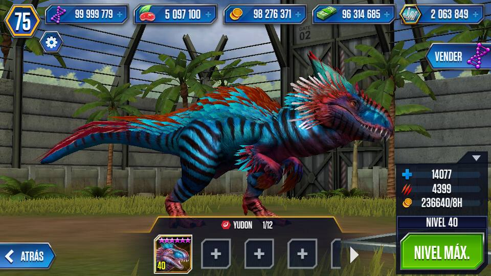 "Generateur ""Jurassic World The Game"" mod"