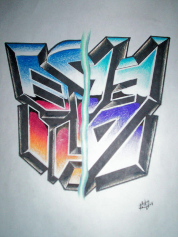 Transformers logo tat by ccobb1234 on DeviantArt