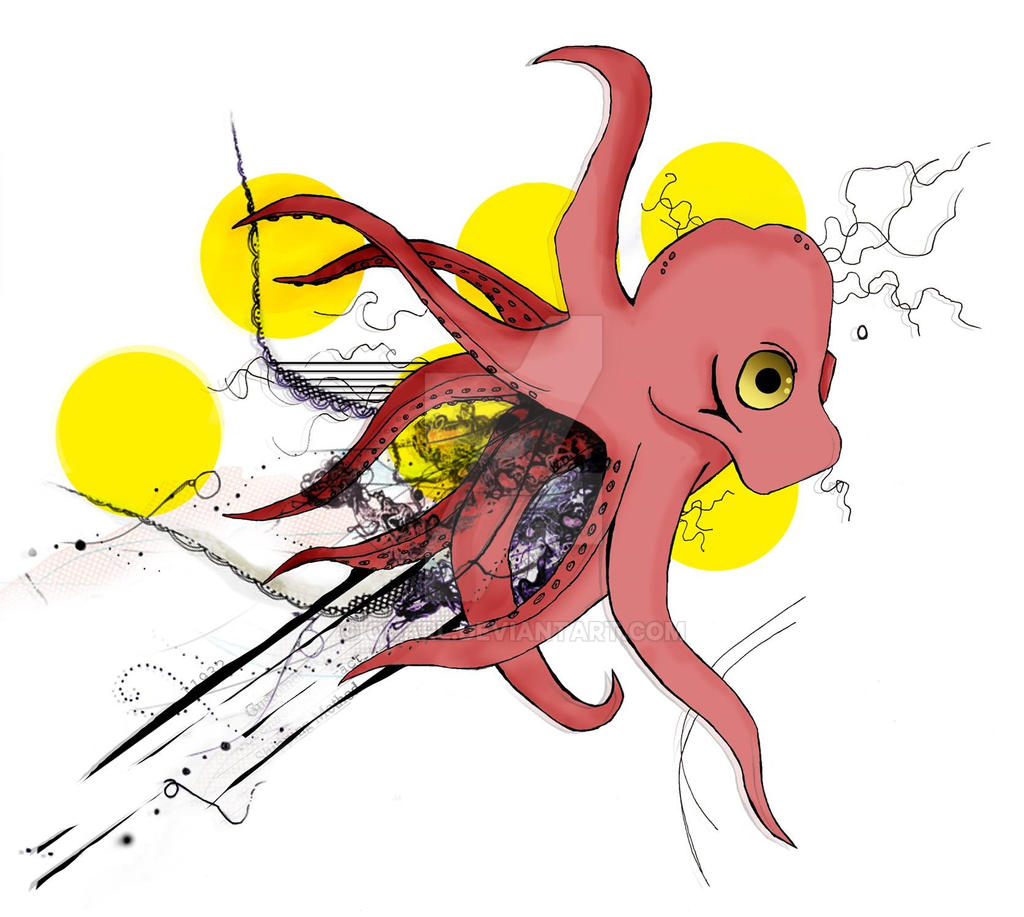 Octopus Tattoo by Quarl