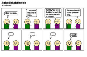 A Friendly Relationship by Quarl