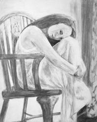 The Girl In the Chair by Quarl