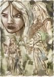 Bocetos Daenerys
