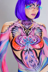 Bollywood Bodypaint-front by PaintOnYourFace