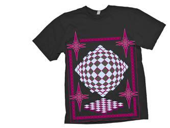 Virlyn T-shirt design 2- black shirt example by DjMerlyn