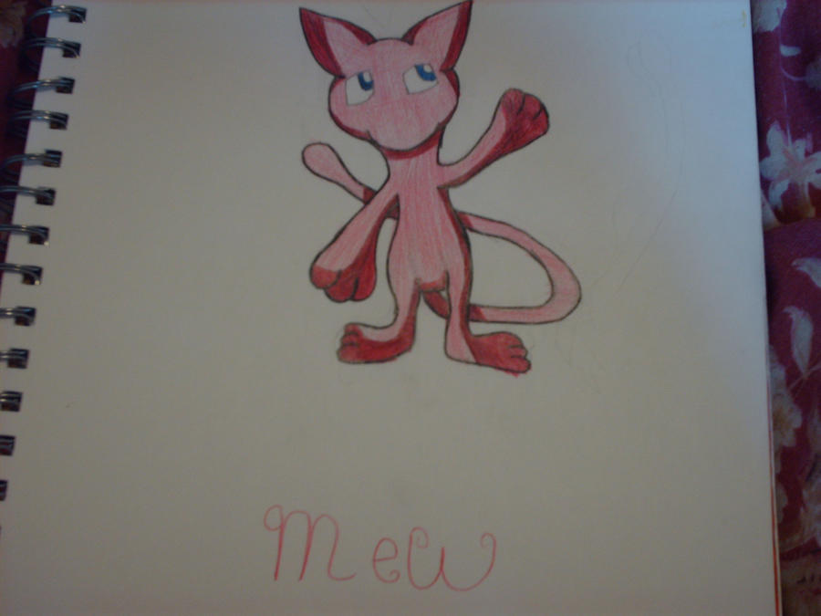 Mew by Kursed1fox