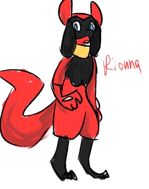 Rianna by Kursed1fox