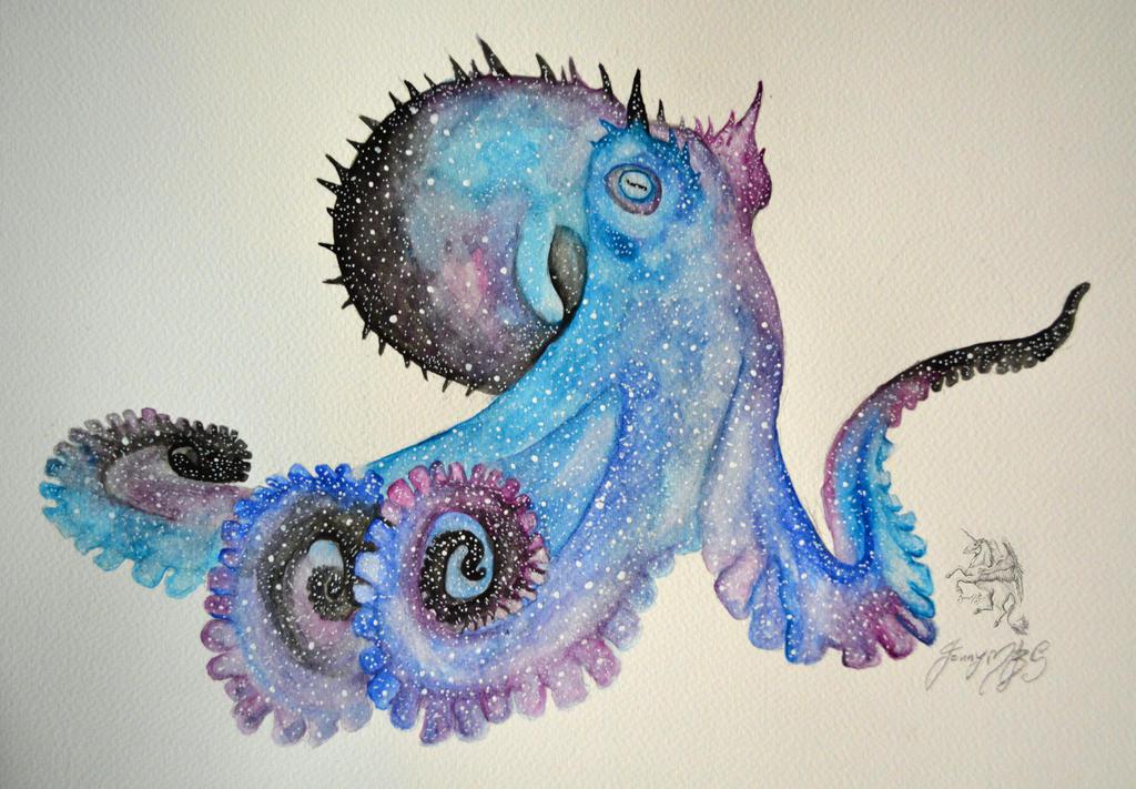 Octopus by JaneMadeleine