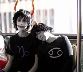 Homestuck: Gamzee and Karkat