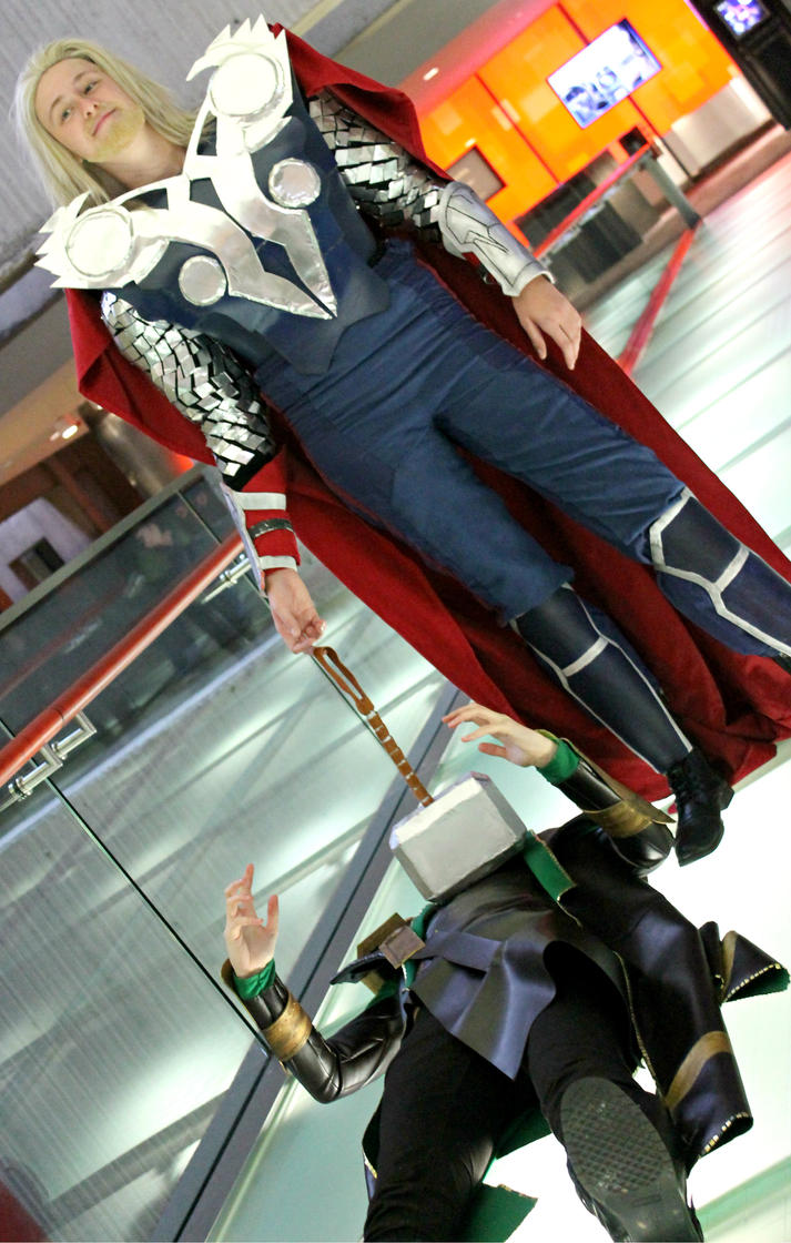 thor hammer time by rhymelawliet on deviantart