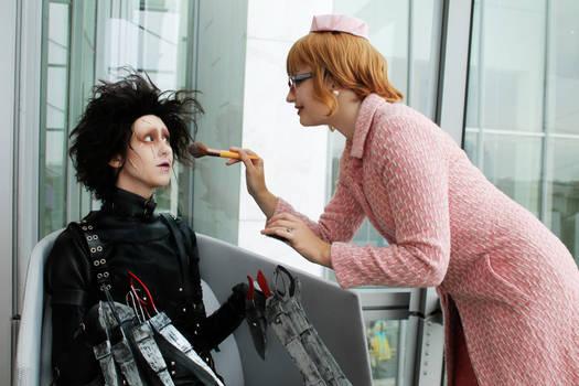 Edward Scissorhands: Makeover