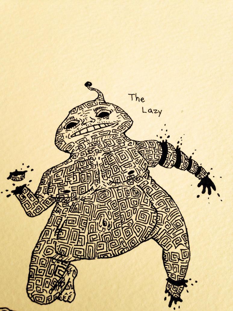 The Lazy by Mechatorachiman
