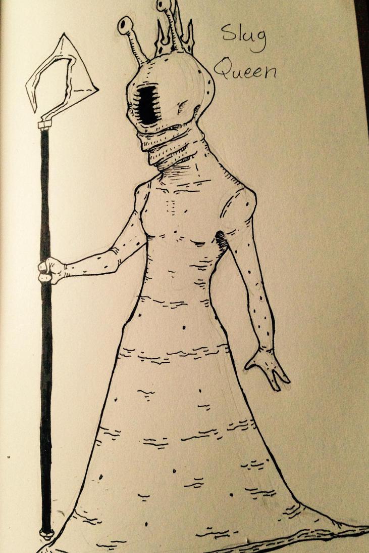 Slug Queen by Mechatorachiman