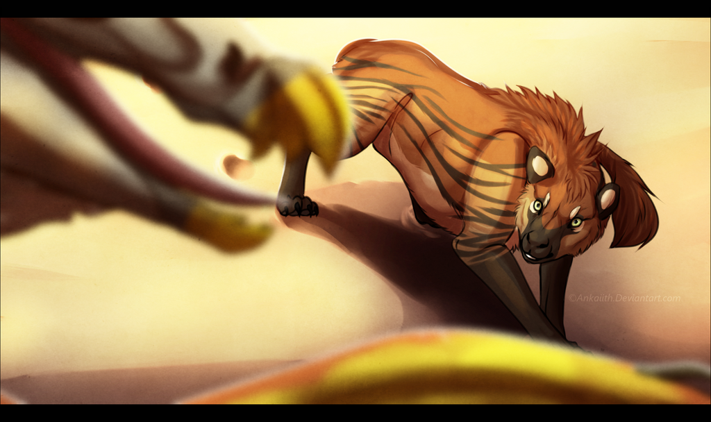 Hunter from Above by Ankaiith