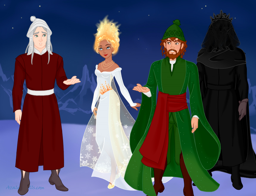 characters from a christmas carol by lonewolf sparrowhawk