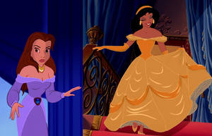Outfit Swap: Belle and Jasmine