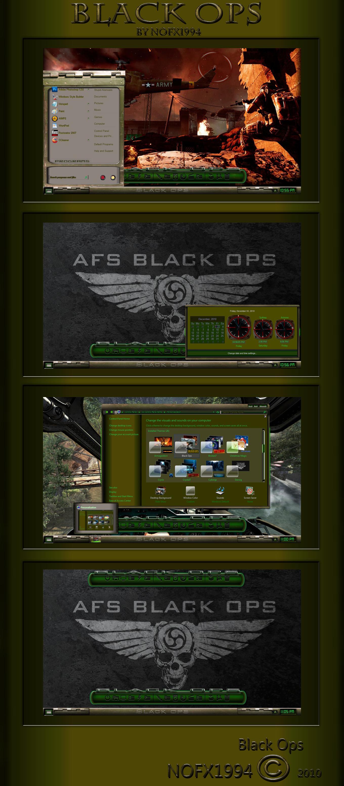 Black Ops Theme