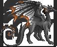 Patterned Ash Dragon by Zwynx