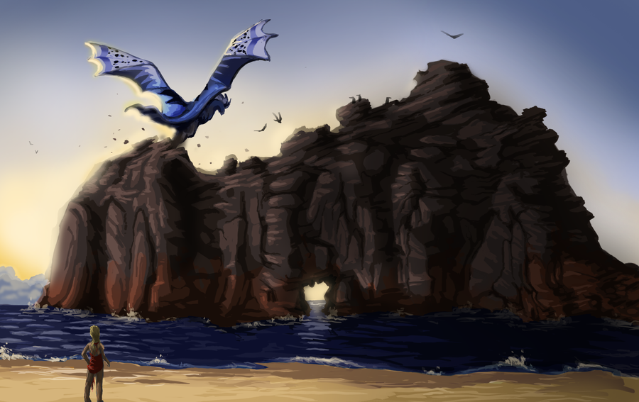Because water is soothing to the soul - Page 4 Coast_biome___dragcave_by_zwynx-d5rhfnn
