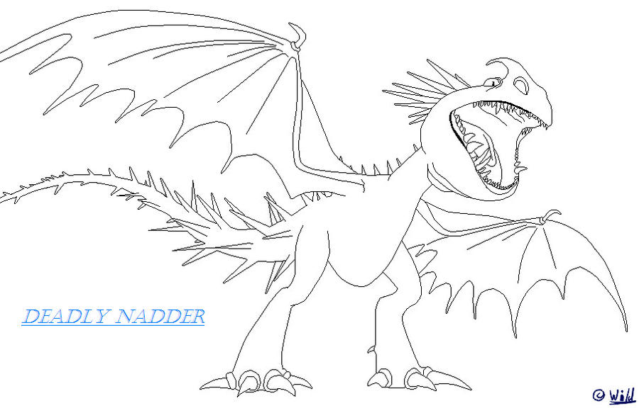 Train Your Dragon Triple Strike Coloring Page Coloring Pages