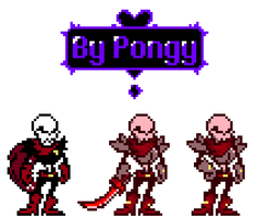 [Underfell] Papyrus deltarune style by P0ngy