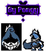 [Deltarune] King Lancer by P0ngy