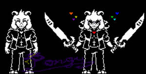 Undertale] Undyne + Undying V2 by P0ngy on DeviantArt