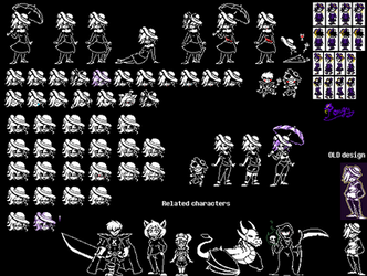 [OC] Pongy sprite sheet v2 by P0ngy